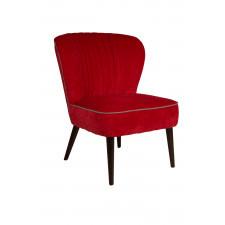 Dutchbone Fotel SMOKER czerwony 3100025
