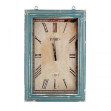 Duży zegar prostokątny Aluro Mazine