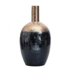 Dwukolorowy ceramiczny wazon