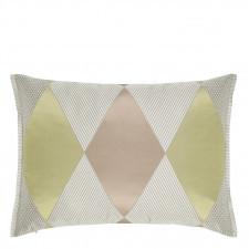 Dwustronna poduszka Designers Guild w geometryczne wzory 45x60cm