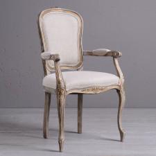 Eleganckie krzesło z podłokietnikiem