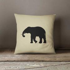 Elephant, Poduszka dekoracyjna z napisem