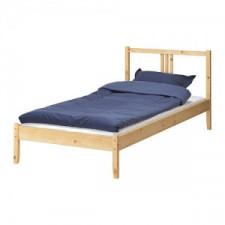 FJELLSE Rama łóżka, sosna