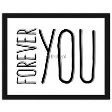Forever You, Plakaty w ramie