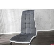 Fotel  krzesło konsolowe Pick II, antracytbiel,
