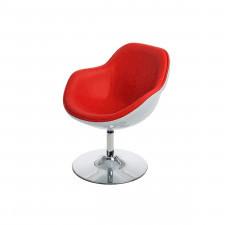 Fotel 68x77x60cm D2 Pezzo biało-czerwony