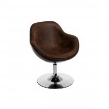 Fotel 68x77x60cm D2 Pezzo vintage brązowy