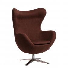 Fotel D2 Jajo melanż brązowo-rudy