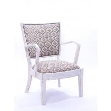 Fotel biały  vintage K030