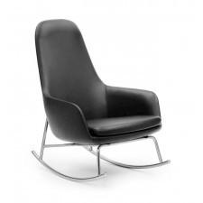 Fotel bujany Era wysoki skóra Tango