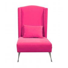 Fotel Dandys różowy