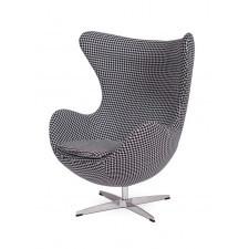 Fotel EGG CHAIR Kaszmirowy - Tetris