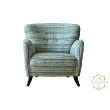 Fotel Etno Morrocan Blue