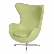 Fotel Jajo D2 skóra zielona