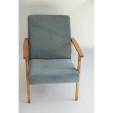 Fotel klasyczny turkusowy
