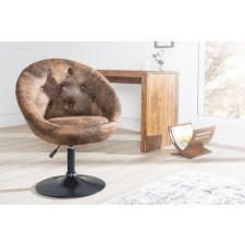 Fotel krzesło Couture antic coffee 85-100cm