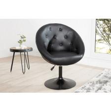 Fotel krzesło Couture black 85-100cm