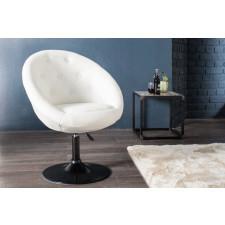 Fotel krzesło Couture white 85-100cm