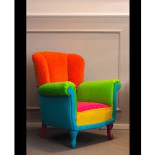 Fotel Lirka Multikolor