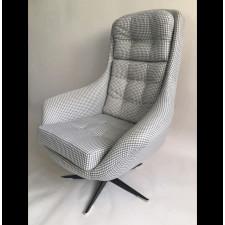 Fotel obrotywy, lata 70.