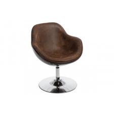 Fotel Pezzo - brązowy melanż
