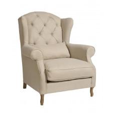 Fotel pikowany wysoki Classic