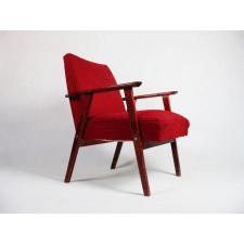 Fotel tapicerowany lata 60  70
