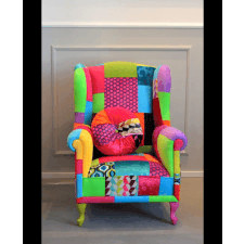 Fotel Uszak Patchwork Juicy Colors