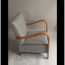 Fotel Vintage, lata 70, pepitka.