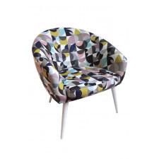 Fotel vintage, muszelka, muszla.