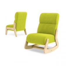 Fotelik Fun z zagłówkiem - Timoore - Simple Green