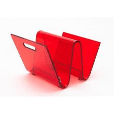 Gazetnik OS czerwony - czerwony