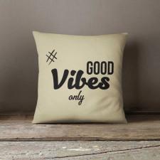 Good Vibes Poduszka dekoracyjna z napisem