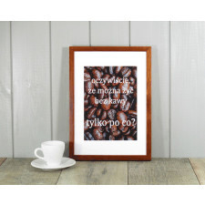Grafika 21 x 30 cm Wzór 23 | Coś o kawie