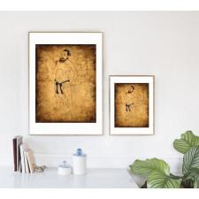 Grafika Vintage - Akupunktura chińska I
