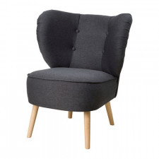Gubbo fotel do salonu pokrycie szare