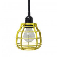 HK Living Lampa LAB żółta z włącznikiem VAA1085S