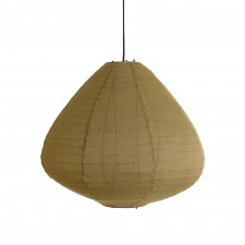 HK Living Lampa wisząca typu Lampion 65 cm w kolorze khaki brown VLK2007