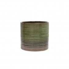 HK Living Naczynie ceramiczne zielono-brązowe ACE6686