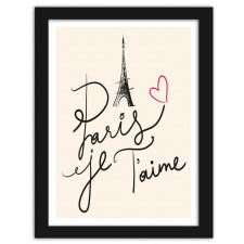 I love Paris 2, Plakaty w ramie