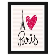 I love Paris, Plakaty w ramie