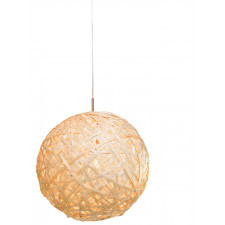 It's About RoMi Hanging lamp bamboo Kyoto ball dia.50xh.47cm natural, S KYOTO/H50