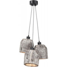 It's About RoMi Hanging lamp birch Aspen/3-shade dia.24xh.24cm, natural ASPEN24/H3/N