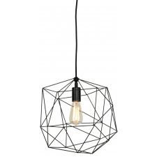 It's About RoMi Hanging lamp iron thread Copenhagen dia.35xh.36cm, black COPENHAGEN/H35/B