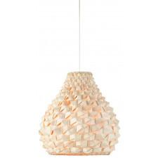 It's About RoMi Lampa wisząca Sagano bambus 50x32cm/abażur kropla, biały/naturalny SAGANO/H42/N