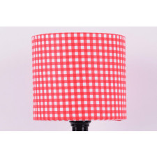 majunto Abażur Red Checkered 25x25x22cm