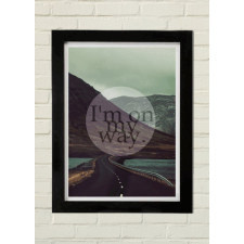 MY WAY Plakat 70x100cm