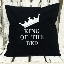 Poduszka King Of Bed 40x40cm