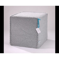 Puf Beauty Cube Grey  50x50x50 cm