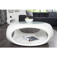 Stolik kawowy Brook White 75cm (Z35571)